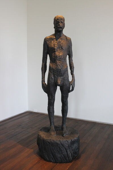 Aron Demetz, 'Tragedia del univocitá', 2011