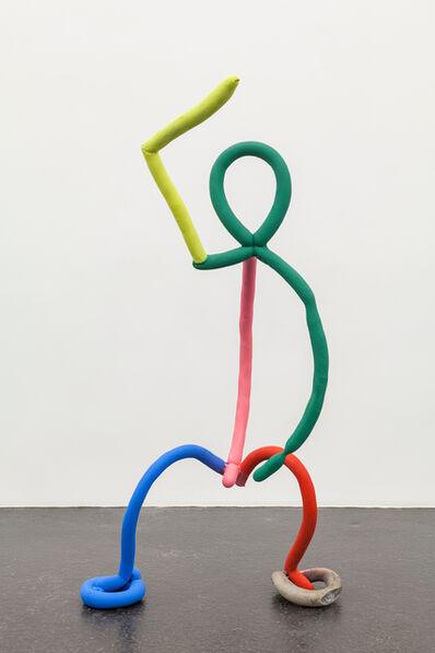 Catharine Czudej, 'Crouching Man', 2016