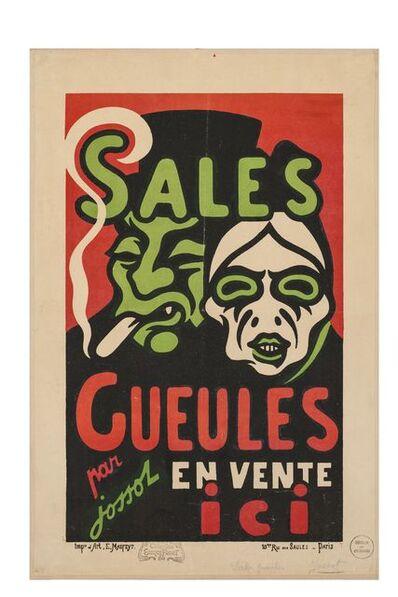 Henri-Gustave Jossot, 'Sales Gueules', 1896
