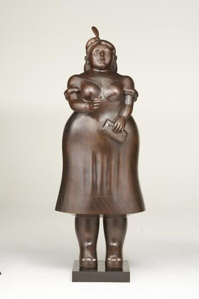 Fernando Botero, 'Lady with purse ', 2003