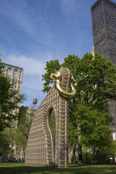Martin Puryear, 'Big Bling, installation view in Madison Square Park, New York', 2016