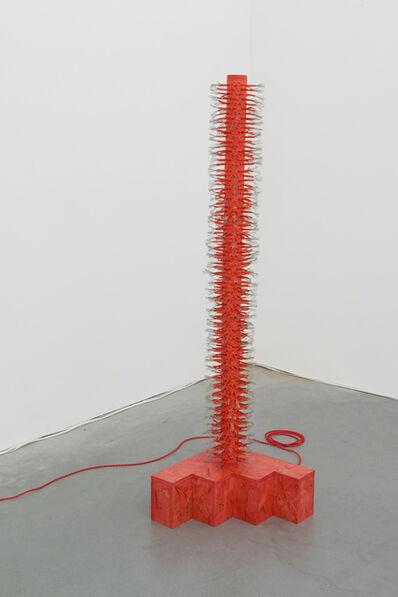 Dana Hemenway, 'Untitled (Latch Hook - red)', 2019