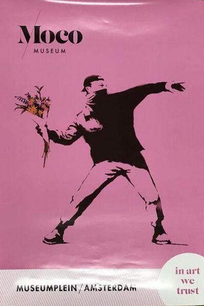 Banksy, 'Flower Thrower Poster ', 2019