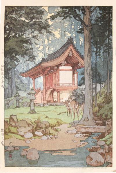 Yoshida Hiroshi, 'Temple in the Woods', 1940