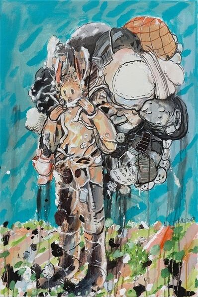 Li Jikai 李继开, 'The One Carrying a Burden No.5 背包袱的人 No.5', 2018