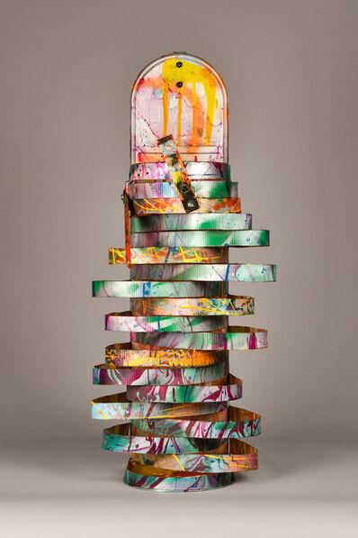 John Chamberlain, 'Sliced Aluminum', 1992