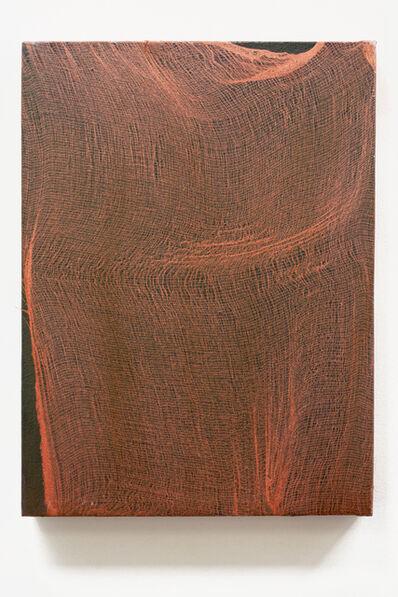 Jeremy Everett, 'Untitled, green gold, broken grid', 2017