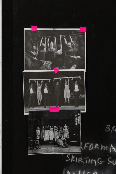 Sally Smart, 'Black Board #1 (Skirting)', 2015
