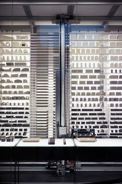 James Beckett, 'Negative Space: A Scenario Generator for Clandestine Building in Africa (Installation view)', 2015