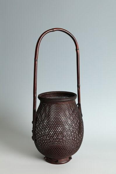 Suzuki Gengensai, 'Handled Jar-Shaped Flower Basket (T-4213)', ca. 1930