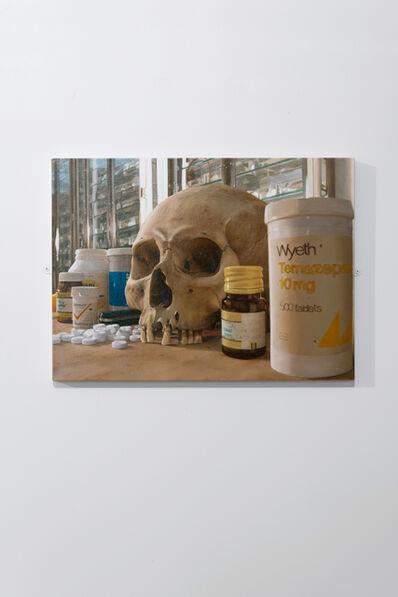 Damien Hirst, 'Skull with pills', 2008