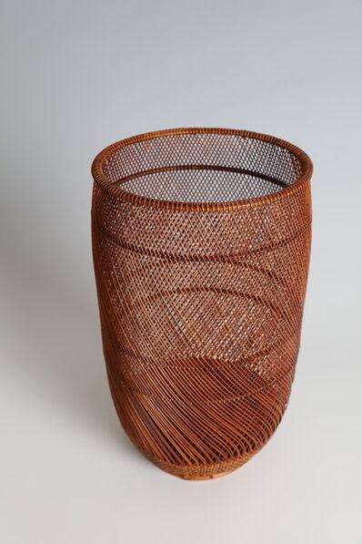 "Maeda Chikubōsai II, '""Shining"" Flower Basket (T-4362)', Showa era (1926, 1989), 1980s"