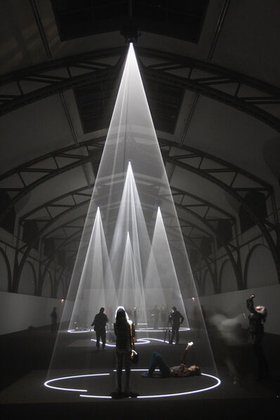 Anthony McCall, 'Installation View, 'Five Minutes of Pure Sculpture, Hamburger Bahnhof, Berlin, April - August 2012'