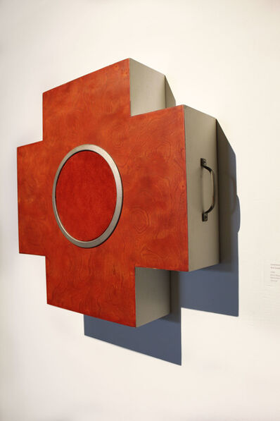 Constance Lowe, 'Red Crossbox', 1998