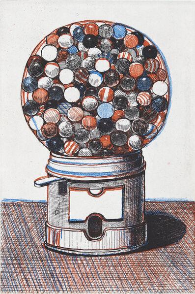 Wayne Thiebaud, 'Gumball Machine', 1964/2017