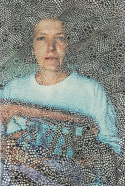 Maggie Cardelùs, 'Cue to a monologue: Veil', 1999