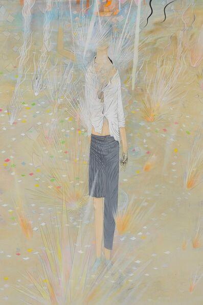 Tomoko Kashiki, 'Firework Rising Above the Border', 2016