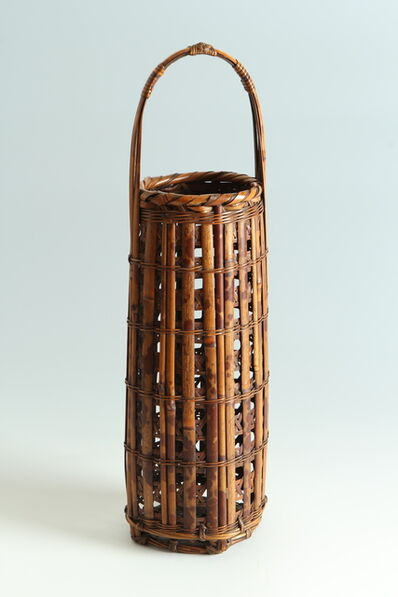 Tanabe Chikuunsai I, 'Flower Basket (T-4002)', Showa era (1926-1989) 1930s