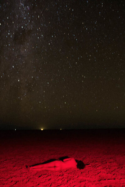 chad Moore, 'tereza red stars', 2018