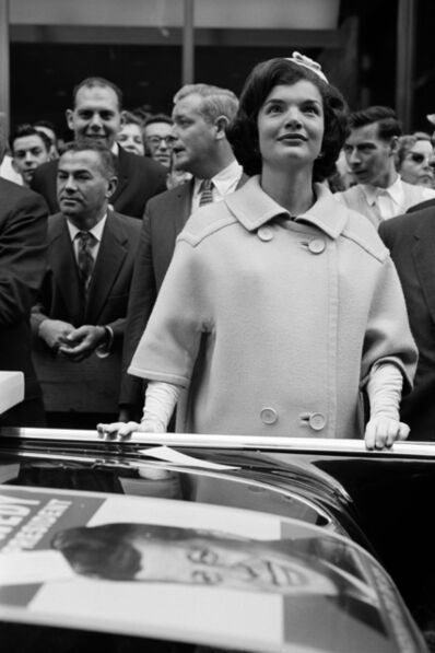 Henri Dauman, 'Jacqueline Kennedy campaigning on Broadway', 1960