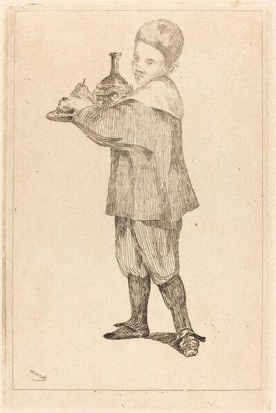 Édouard Manet, 'Child Holding a Tray (L'Enfant Portant un Plateau)', 1862