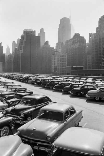 Werner Bischof, 'Roof of the bus terminal, New York, USA', 1953