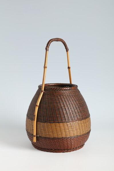 Suzuki Kyokushosai I, 'Handled Flower Basket (T-4206)', ca. 1920