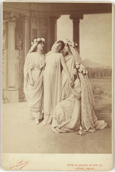 Nadar, 'Sarah Bernhardt as Phedre in Racine's Phaedra', 1874
