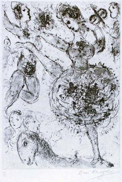 Marc Chagall, 'La Grande Danseuse', 1967