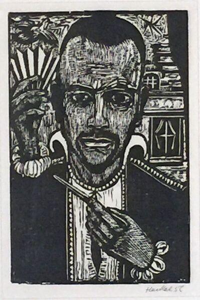Erich Heckel, 'Der Zauberkunstler', 1956