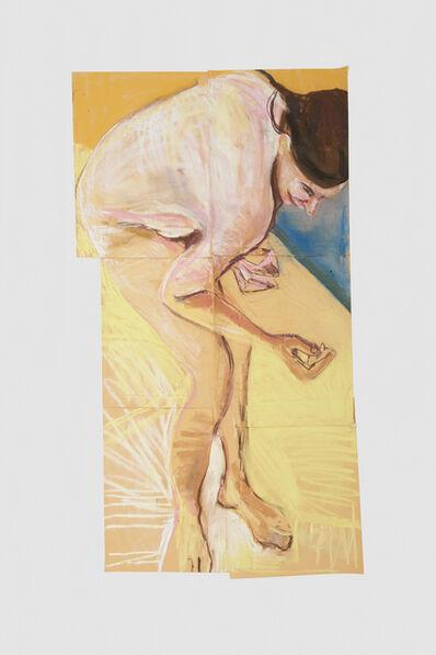 Chantal Joffe, 'Self Portrait Bending Forwards II', 2015