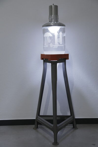 """Florian Borkenhagen, '""""Becherschule"""" Wasserturmmodell 13', 2019"""