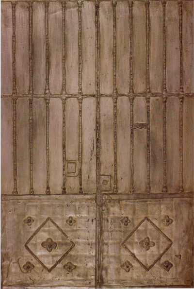 Josep Navarro Vives, 'Puerta de hierro (Iron door)', 1962