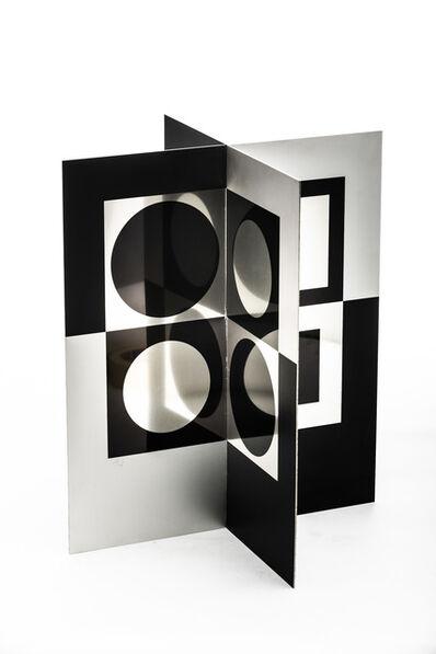 Victor Vasarely, 'René Descartes, Le discours de la Méthode', 1969