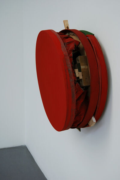 Simon Callery, 'Cadmium Red Deep Pit Painting', 2007