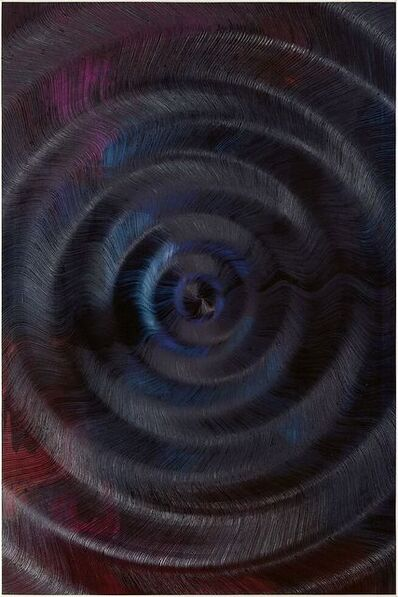 Giacomo Santiago Rogado, 'Coalescence (Cloud Gradient, Ivory Black, Madder Carmine)', 2019
