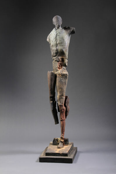 Stephen De Staebler, 'Man with Broad Chest, 2/4', 2010