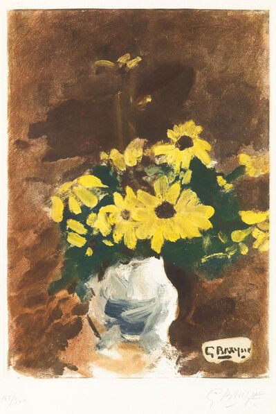 Georges Braque, 'Vase de Fleurs Jaunes (Vase of Yellow Flowers)', 1960