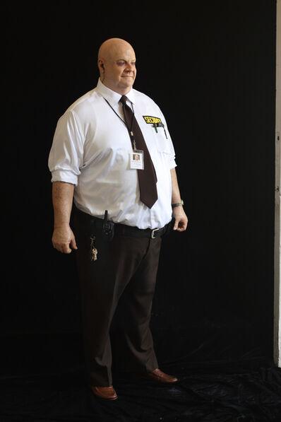Marc Sijan, 'Big Man Security Guard (bald with keys)', 2016