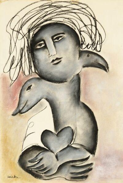 Mirka Mora, 'We Hold My heart', ca. 1970