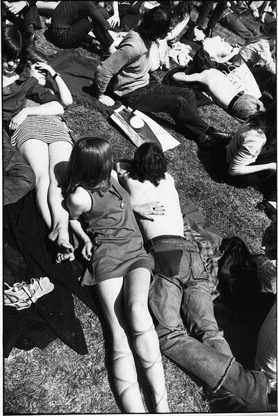 Garry Winogrand, 'Untitled From Women Are Beautiful Series ( Sunbathers Central Park)', 1975-1985