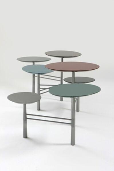 Nada Debs, 'Pebble Table - Stainless Steel'