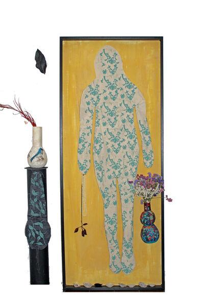 Cynthia Fusillo, 'Textile woman', 2020