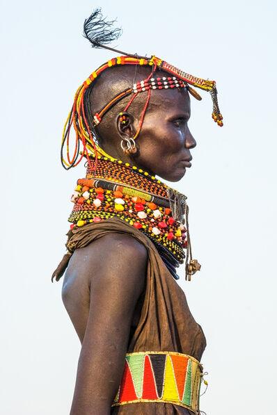 Carol Beckwith and Angela Fisher, 'Turkana Female Elder, Kenya', 2014