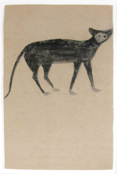 Bill Traylor, 'Cat, Pale Face', 1939-1942