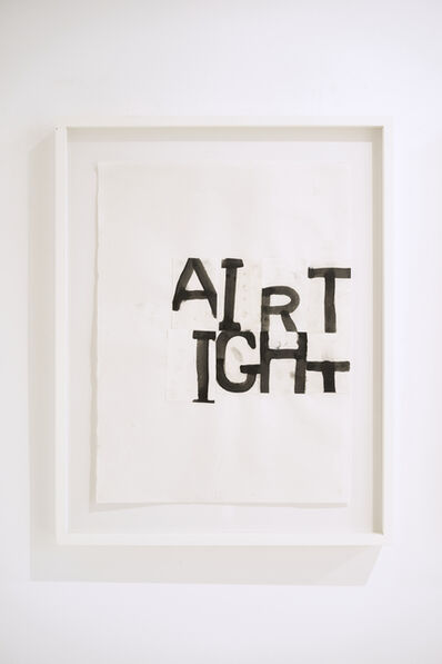 Todd Norsten, 'Untitled (Air Tight)', 2007
