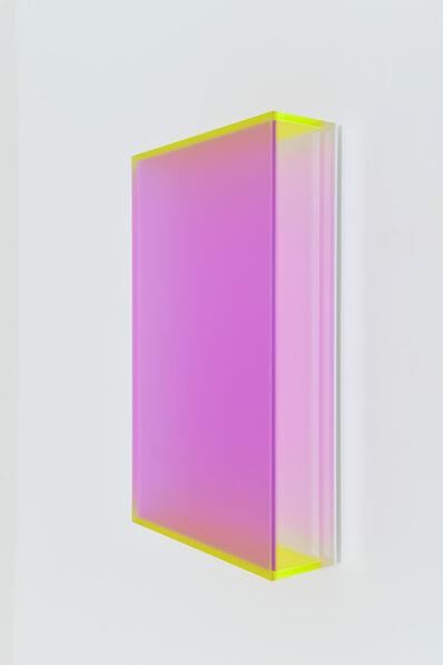 Regine Schumann, 'Colormirror Satin Soft Lila Miami', 2019