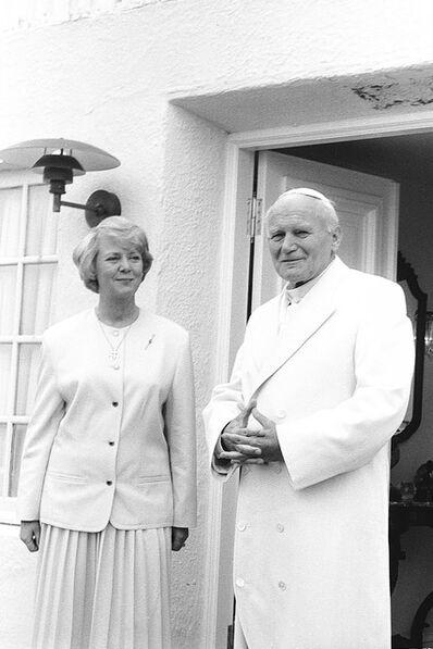 Johann Agust Hansen, 'Pope John Paul II', 1989