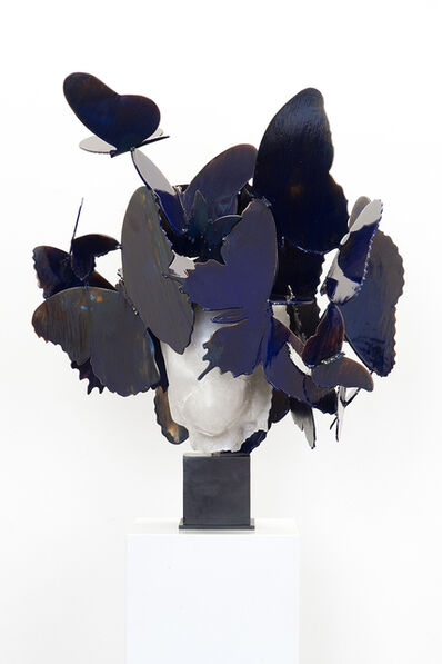 Manolo Valdés, 'Azul Blanco III', 2017