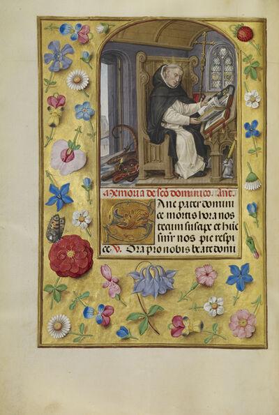 Master of James IV of Scotland, 'Saint Dominic', 1510-1520